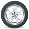 Bridgestone RFT POTENZA RE050A Side View